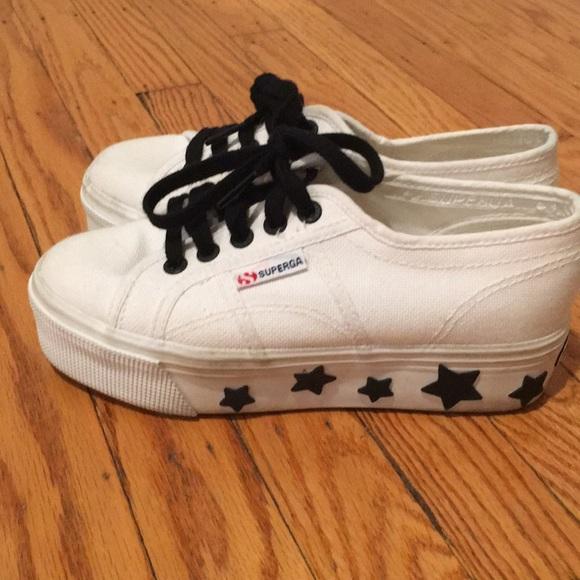 Superga Star Platform Sneakers Size 5